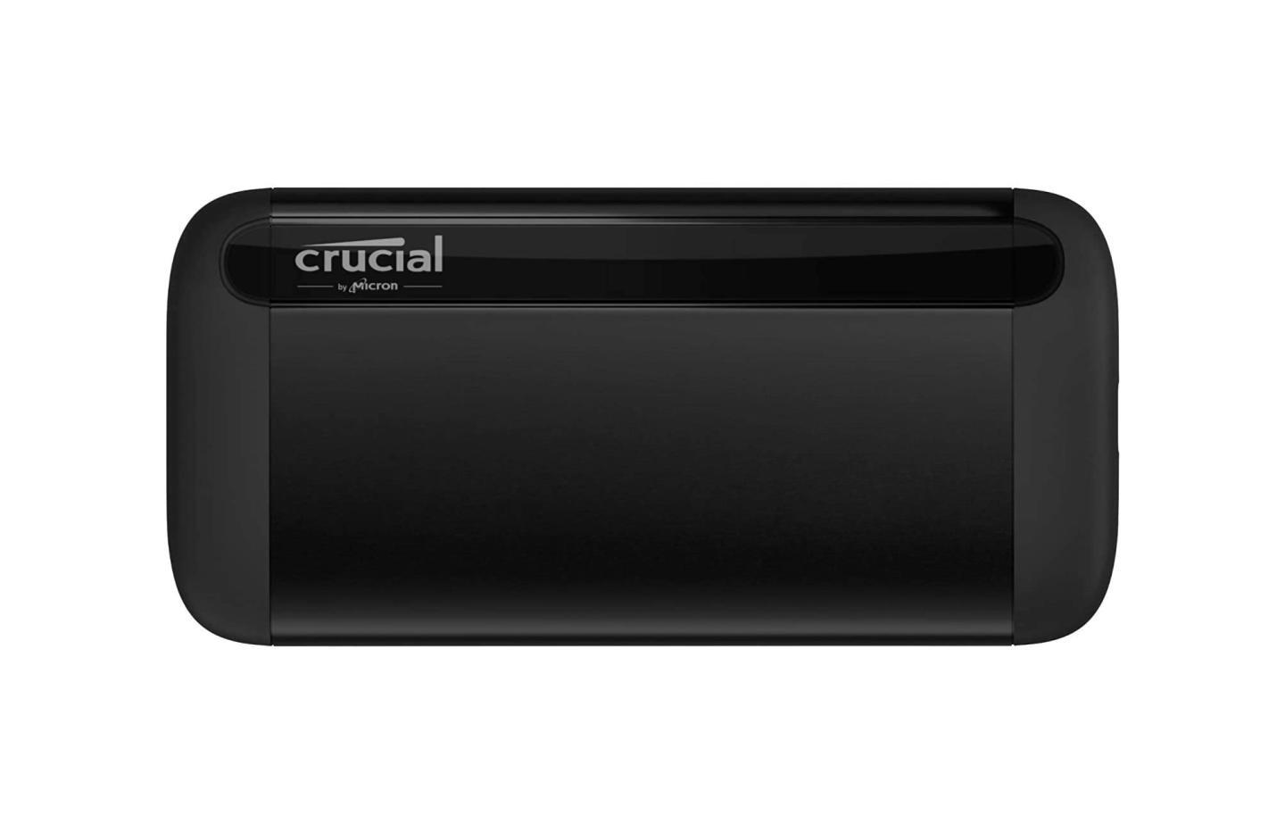 Crucial X8 : ce SSD portable 1 To ultra rapide (1 050 Mo/s) est à 129 €