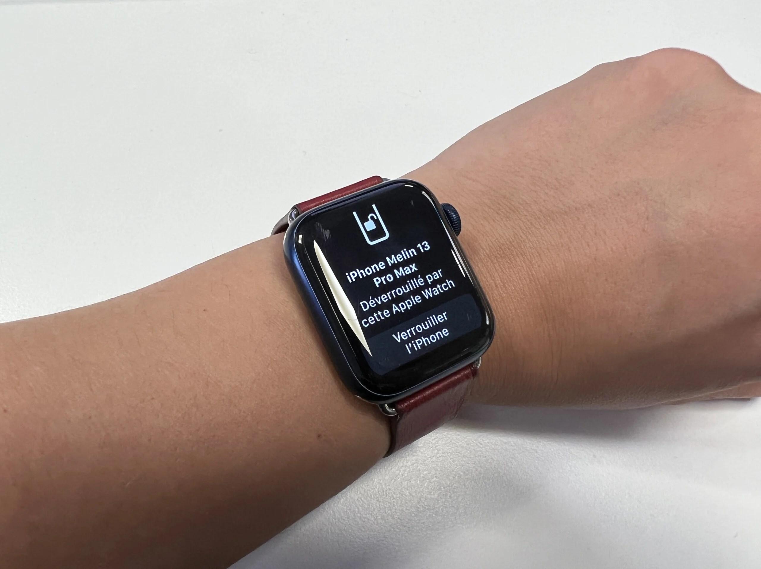 Comment déverrouiller votre iPhone avec votre Apple Watch