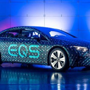 Mercedes EQS : vers une autonomie record annoncée le 15 avril