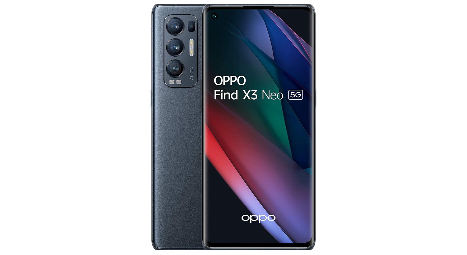 Le tout récent Oppo Find X3 Neo bénéficie déjà d'une réduction de 130 €