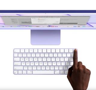 L'iPad Pro 2021 boudé par le Touch ID du clavier de l'iMac M1