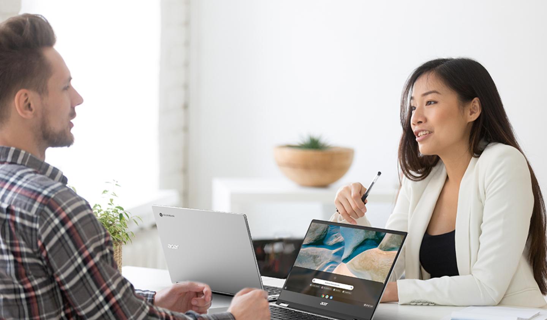 Avec sa puce AMD, l'Acer Spin 514 est l'exemple même du Chromebook puissant et polyvalent