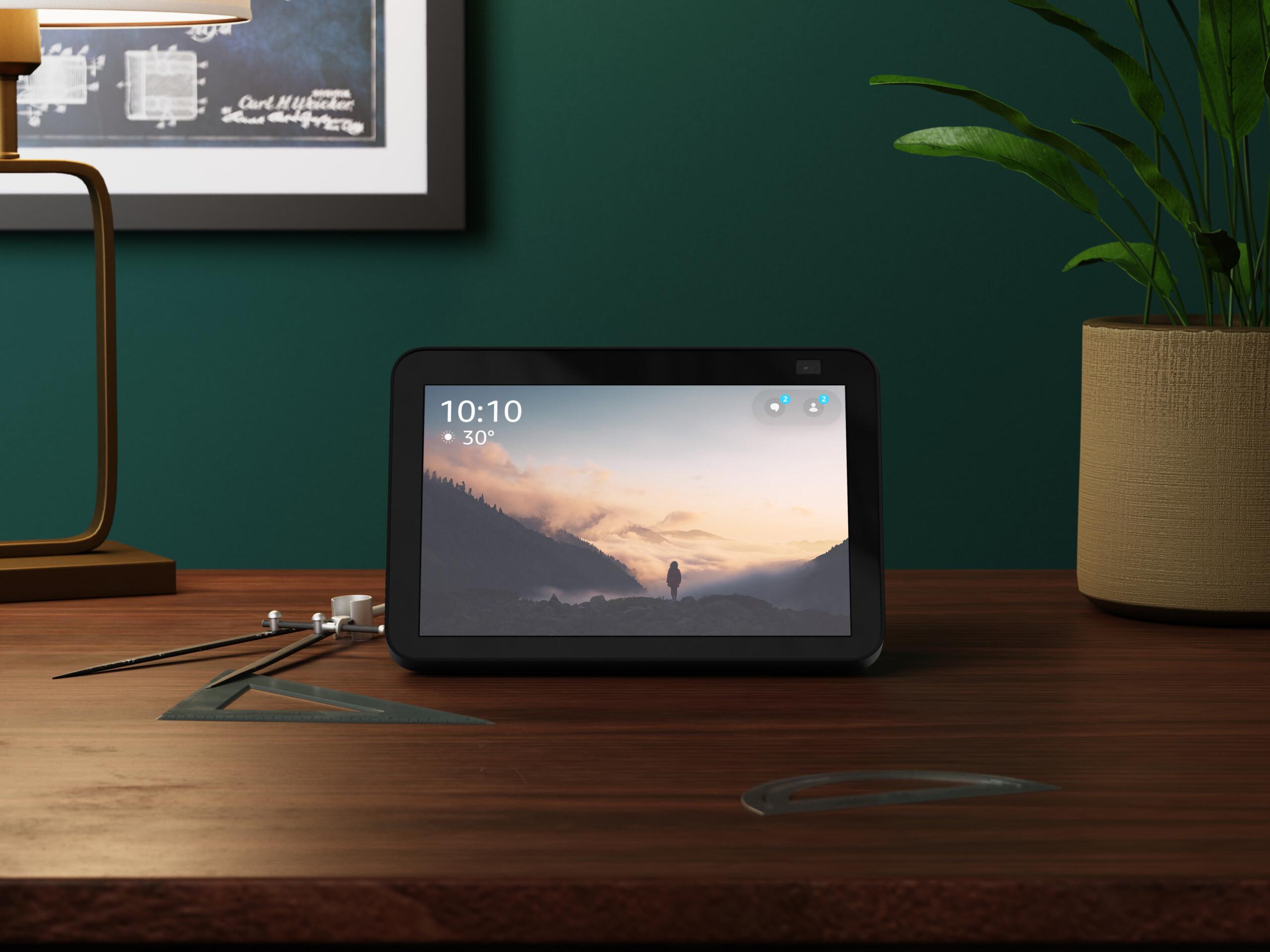 Echo Show 8 et Echo Show 5 : Amazon renouvelle ses écrans intelligents