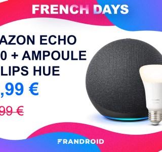 Ce pack Amazon Echo 2020 + ampoule connectée est moins cher pour les French Days