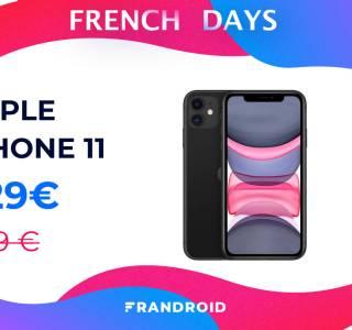 Toujours chaudement recommandable, l'iPhone 11 est en promo pour les French Days !