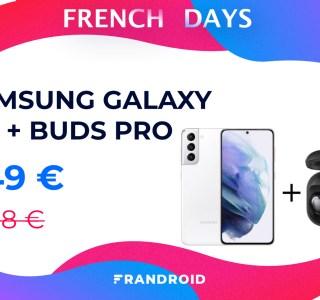 Seulement 749 € pour ce pack Samsung Galaxy S21 + Buds Pro chez Cdiscount