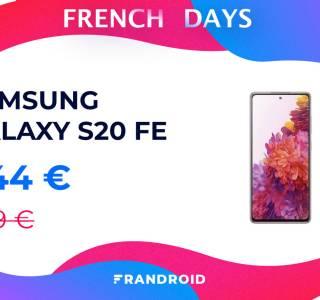 Le Samsung Galaxy S20 FE ne résiste pas aux promotions des French Days