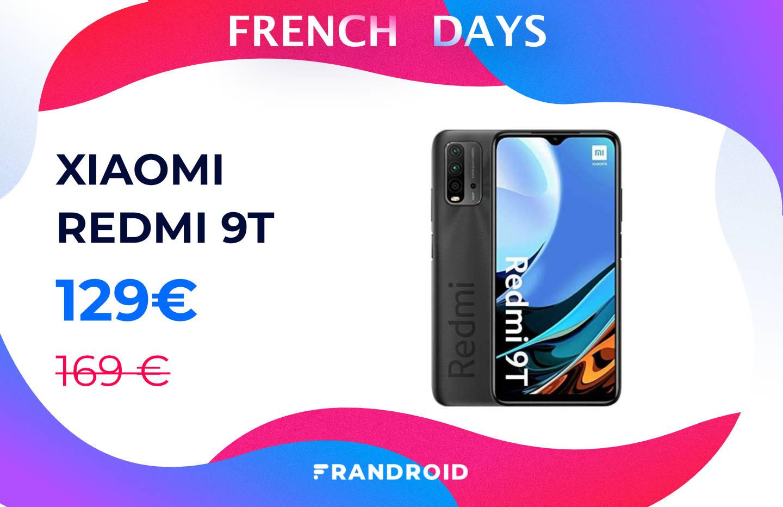 Redmi 9T : ce smartphone Xiaomi avec 3 jours d'autonomie est à 129 €