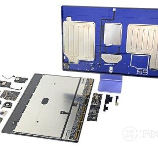 L'iMac M1 est très difficile à réparer, il a été conçu autour de l'Apple M1