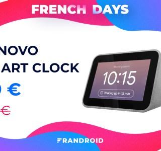 Le réveil intelligent Lenovo Smart Clock est encore moins cher pour les French Days