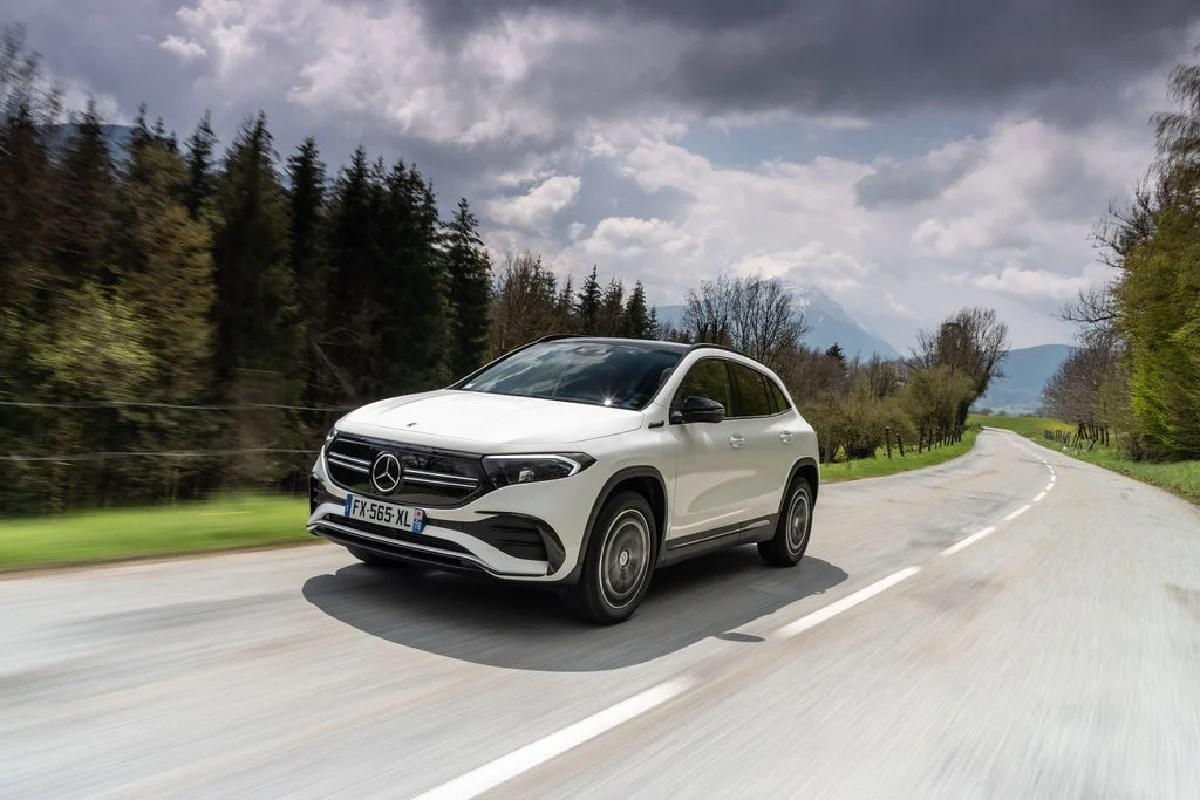 Mercedes EQA : sa version la plus puissante ne fait pas le poids face à la Tesla Model Y