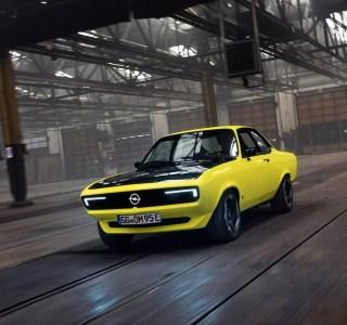 Opel Manta: sa version électrique est un bonbon pour les yeux
