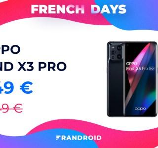 Oppo Find X3 Pro : déjà 200 euros de réduction grâce aux French Days