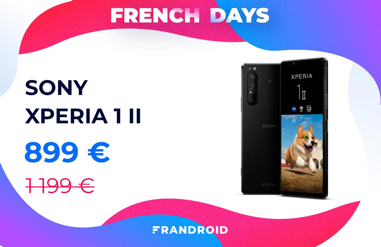 Les French Days font fondre comme neige au soleil le prix du Sony Xperia 1 II
