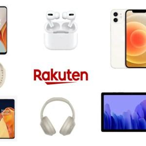 iPhone 12, OnePlus 9, Galaxy Tab : les bonnes affaires de ce dimanche chez Rakuten