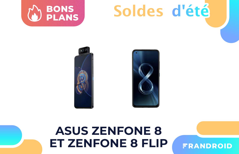 Asus baisse le prix de ses Zenfone 8 et 8 Flip pour les soldes d'été 2021