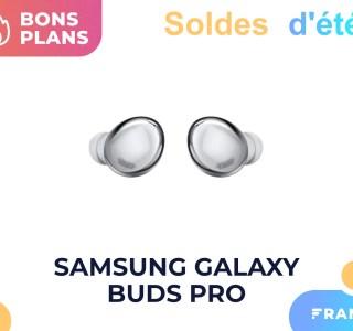 Soldes 2021 : les Samsung Galaxy Buds Pro coûtent 99 € au lieu de 229 €