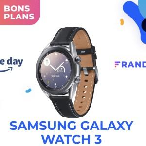 Le Prime Day vous fait économiser 100 € sur la Samsung Galaxy Watch 3
