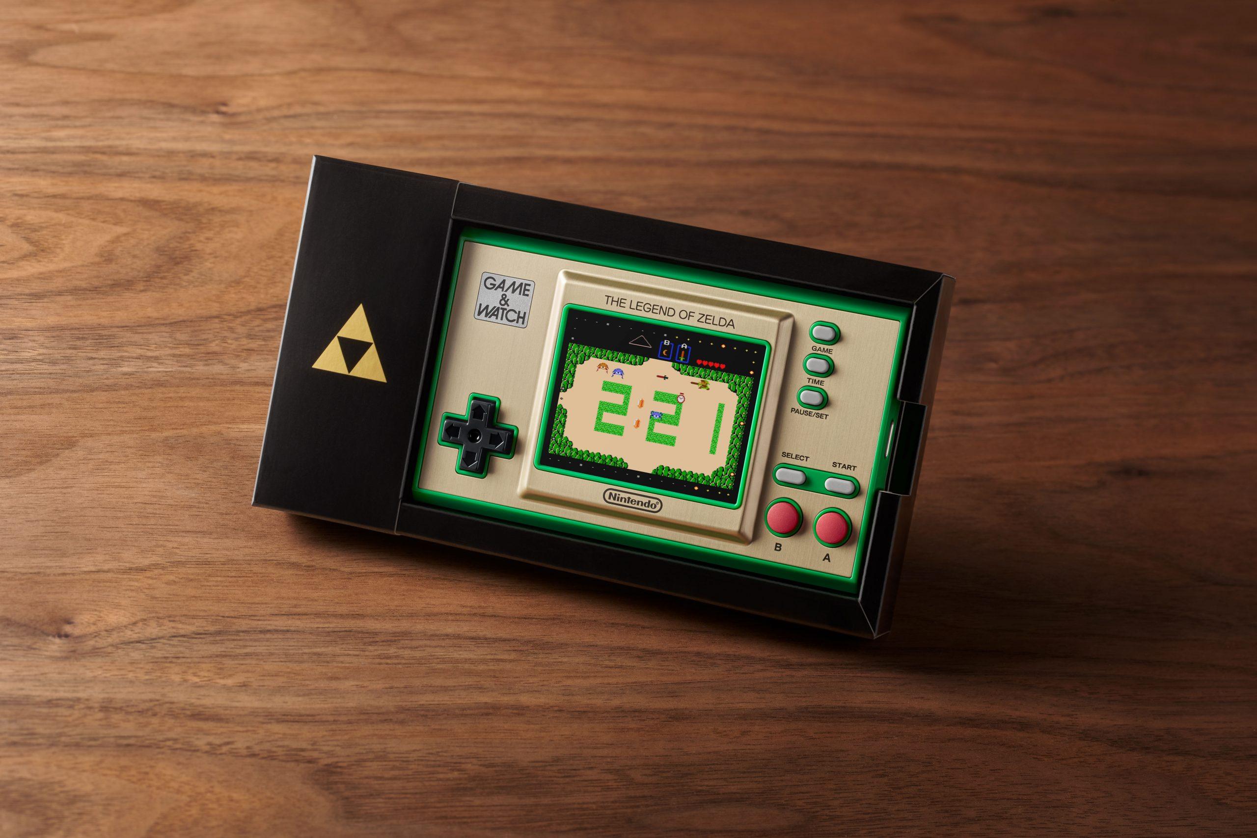 The Legend of Zelda : Nintendo dégaine une Game & Watch pour les 35 ans