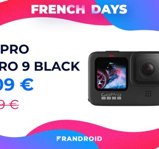 La GoPro Hero9 Black chute à un prix inédit en ce dernier jour des French Days