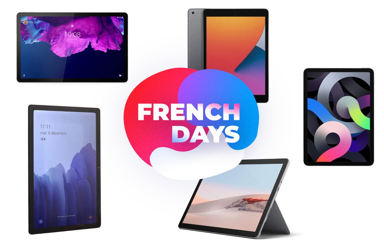 French Days : voici le TOP 5 des meilleures tablettes et iPad en promotion
