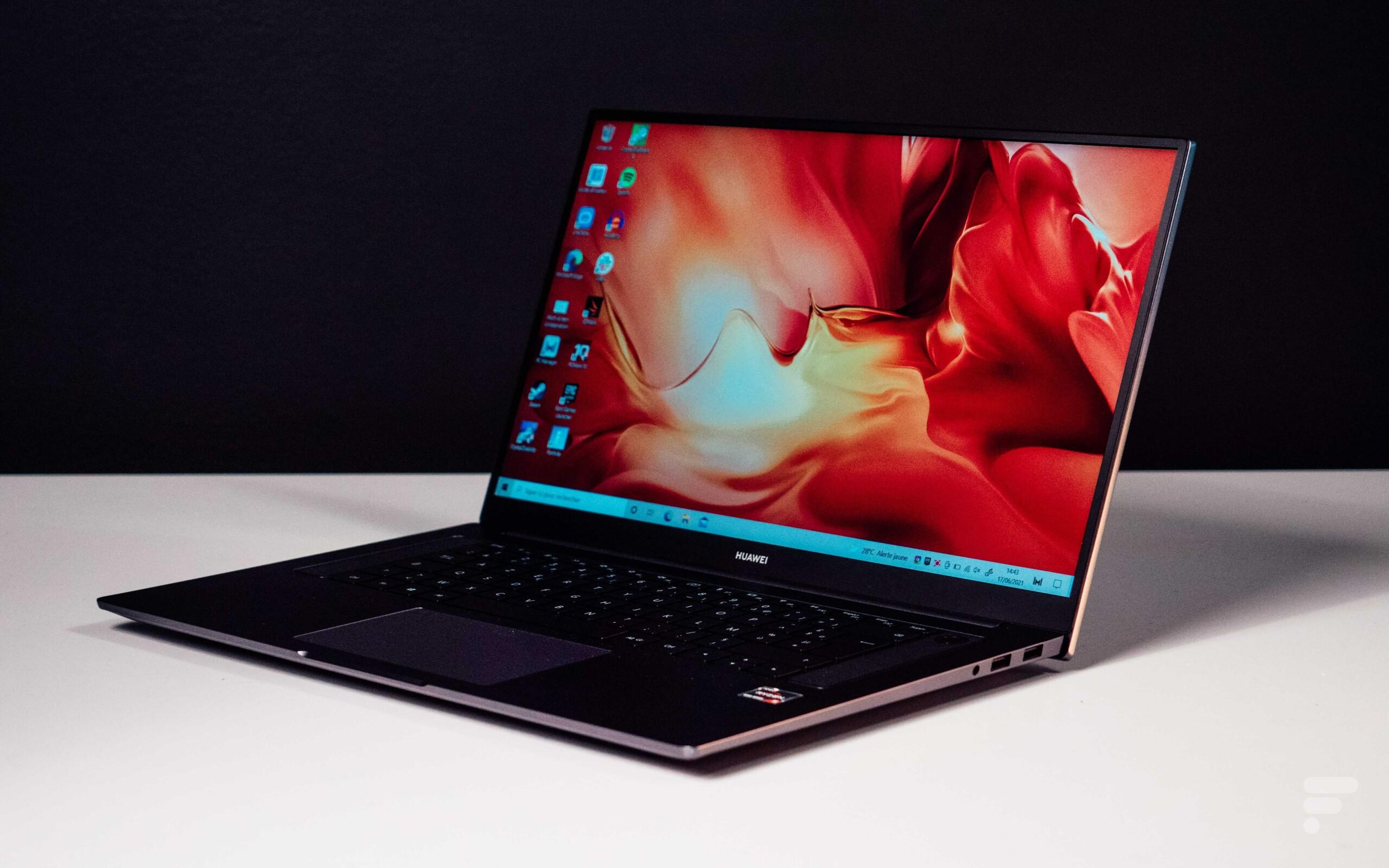 Huawei Matebook D16 AMD (2021): un feeling d'ultraportable dans un corps de 16pouces