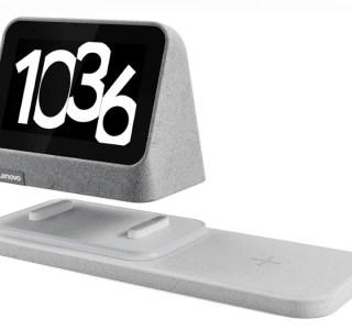Lenovo dévoile un nouveau réveil intelligent Smart Clock 2 avec un chargeur sans fil