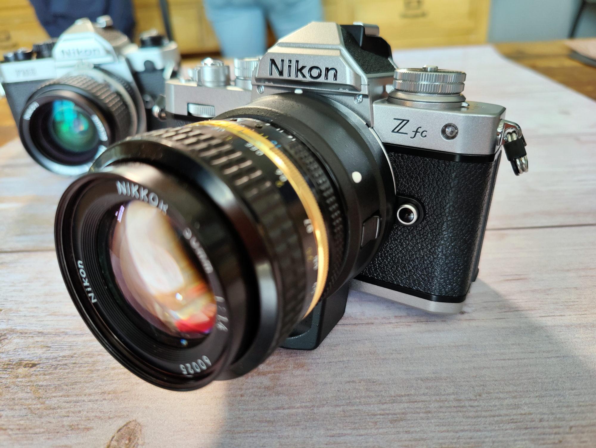Nikon Z fc : un équivalent du Z50 avec un look rétro iconique