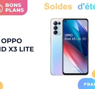 Oppo Find X3 Lite : voici un bon smartphone 5G en solde (-100 €)
