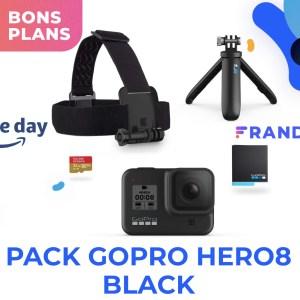 La GoPro Hero8 Black (avec ses accessoires) devient plus abordable pendant le Prime Day
