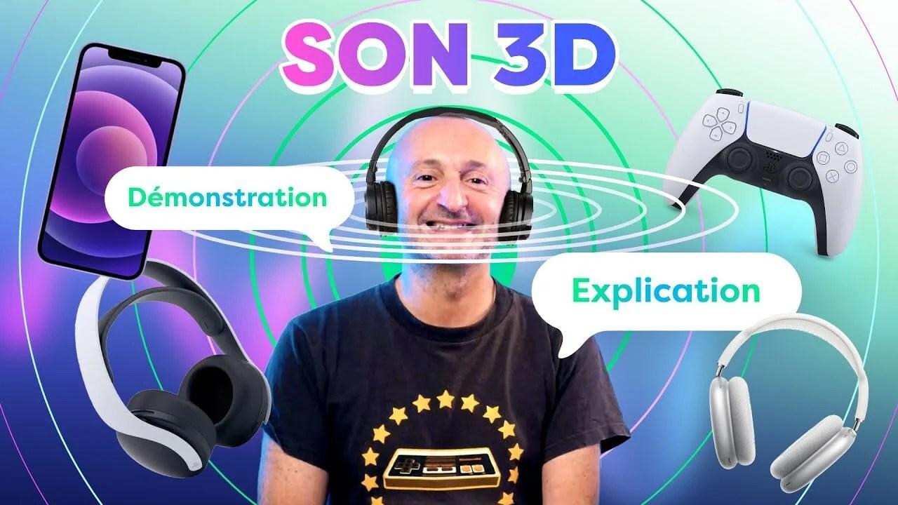 Apple Spatial Audio, Dolby Atmos, casque gaming… PP Garcia vous dit tout sur l'audio 3D