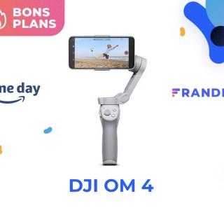 DJI OM 4 : le prix du stabilisateur pour smartphone est au plus bas sur Amazon