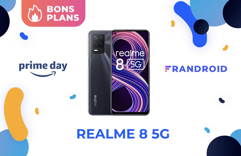 Realme 8 : ce smartphone compatible 5G est à seulement 139 € pour le Prime Day