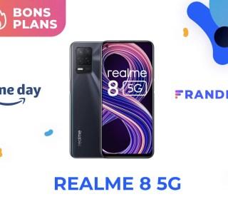Realme 8 : ce smartphone 5G est à seulement 170 € pour le Prime Day