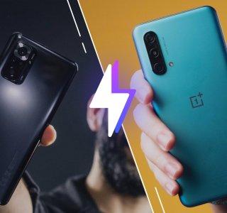 Xiaomi Redmi Note10 Pro vs OnePlus Nord CE: lequel est le meilleur smartphone?