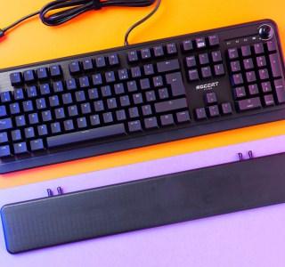 Test du Roccat Pyro : un clavier performant mais sans saveur