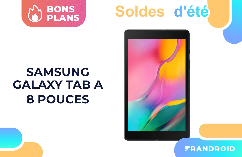 129 euros, c'est le prix de la Samsung Galaxy Tab A 8″ pendant les soldes