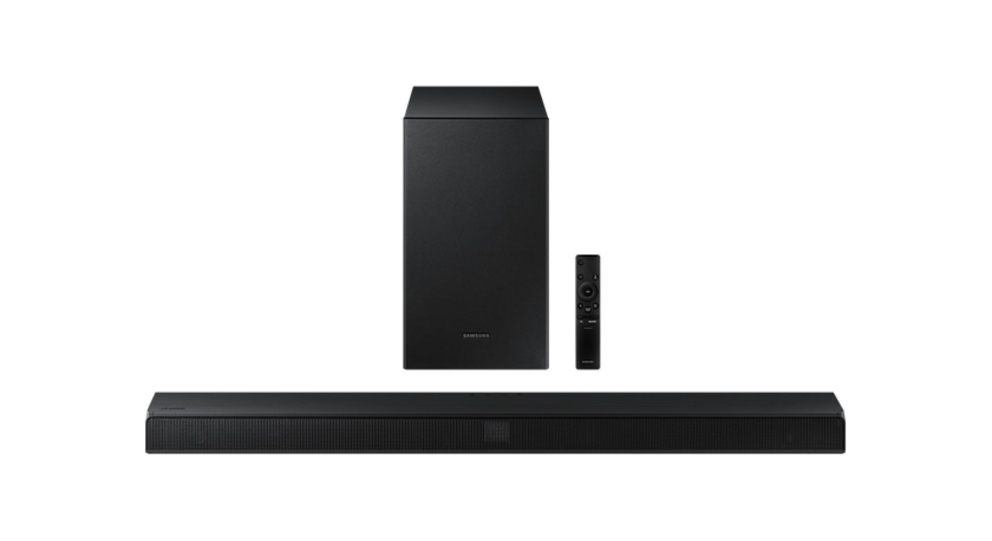 Samsung HW-T550 : l'une des meilleures barres de son d'entrée de gamme à moins de 200 €