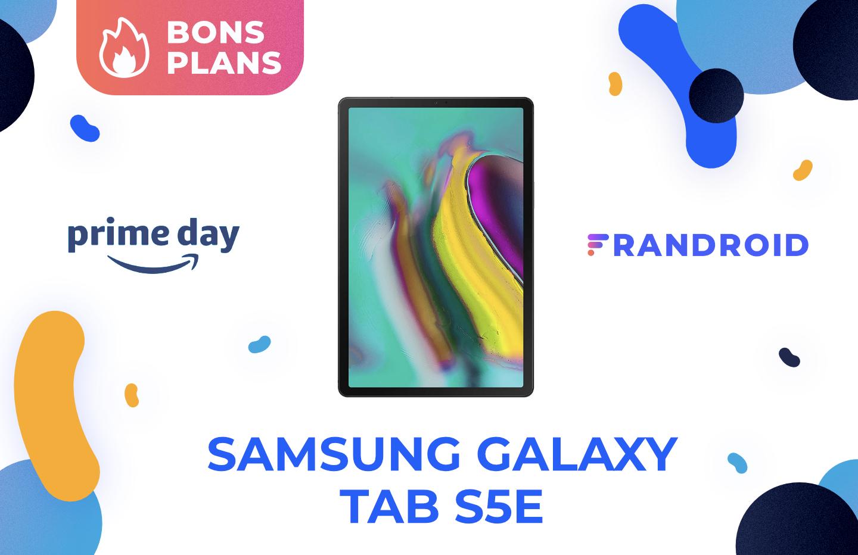 Samsung Galaxy Tab S5e : cette tablette familiale est à -23 % sur Amazon