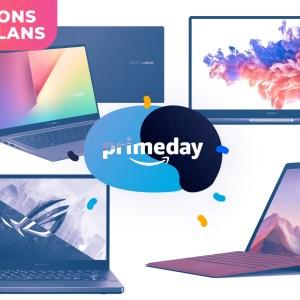 PC portables / hybrides : voici les 4 meilleures offres du Prime Day d'Amazon