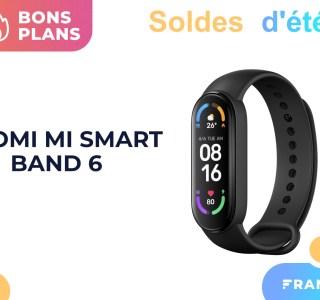 Le récent Xiaomi Mi Smart Band 6 perd quelques euros durant les soldes