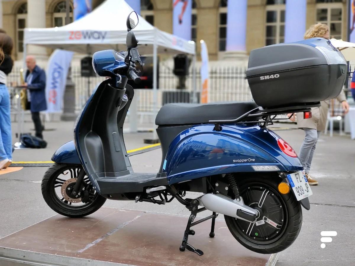 On a essayé ZEWAY et son scooter électrique qui se recharge en 50secondes