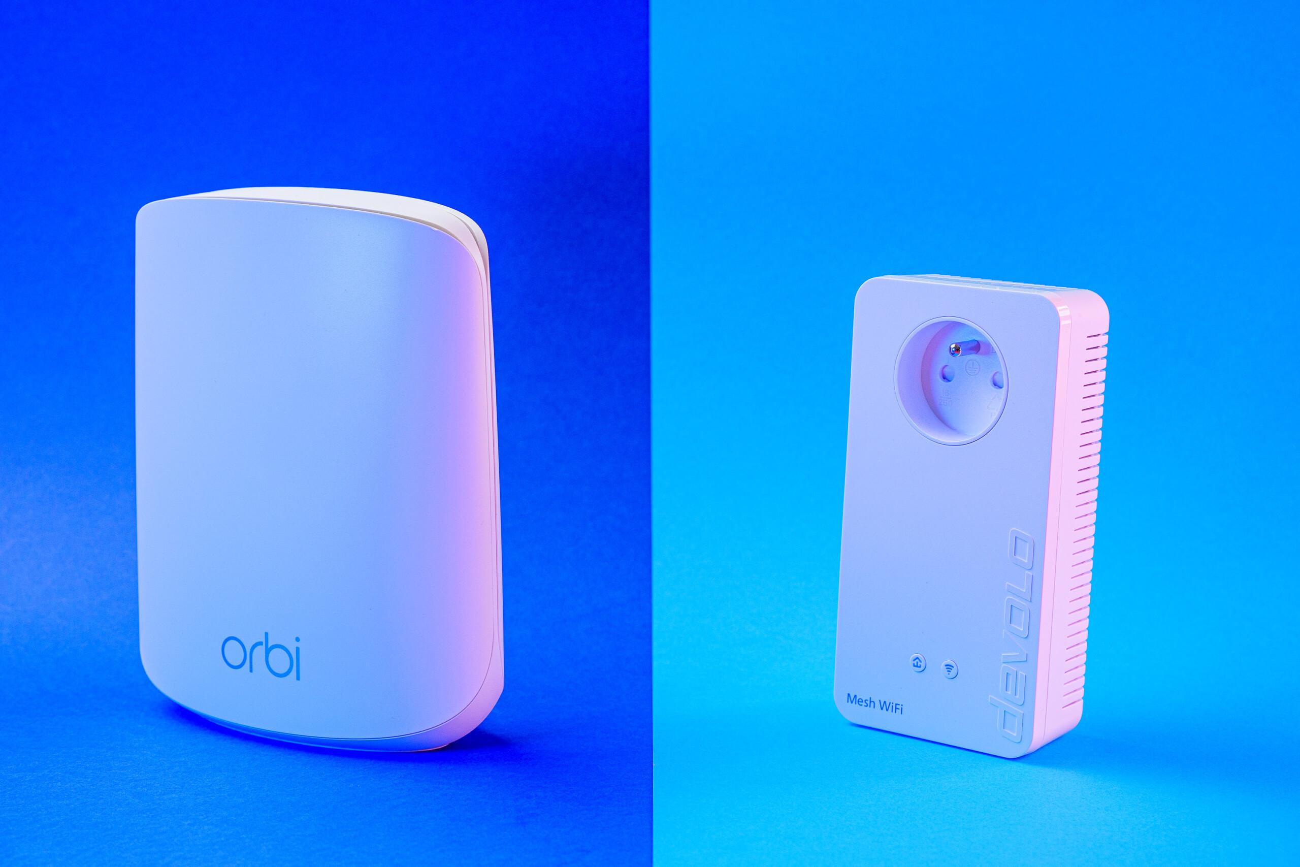 Netgear Orbi RBK352 vs Devolo Mesh Wifi 2 : qui est le meilleur ?