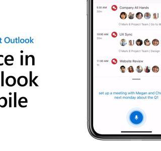 Outlook pour iOS et Android vous permettra de dicter des e-mails