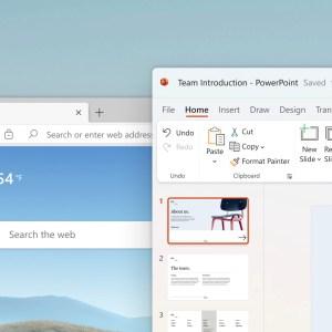 Windows 11 : un nouveau design pour l'explorateur de fichiers, PowerPoint, Word et Paint
