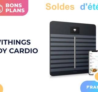 Withings Body Cardio : la référence des balances connectées est soldée -37 %