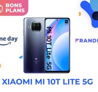 Prime Day : le prix du Xiaomi Mi 10T Lite 5G passe enfin sous les 200 €