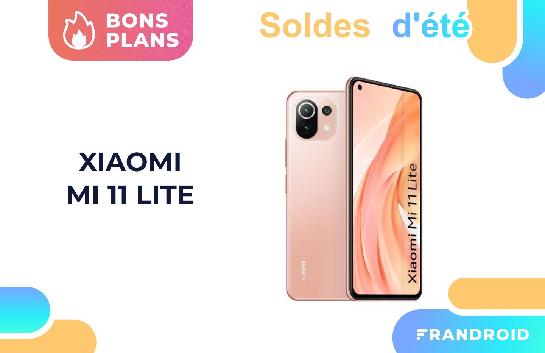 Xiaomi Mi 11 Lite : ce récent smartphone est déjà moins cher grâce aux soldes