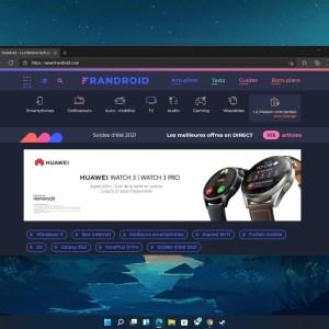 Windows 11 : le mode sombre sera le design standard sur certaines versions