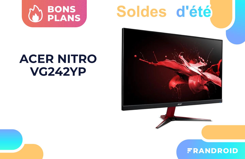 Acer Nitro VG2 : cet écran gaming 24 pouces à 165 Hz est soldé chez Cdiscount